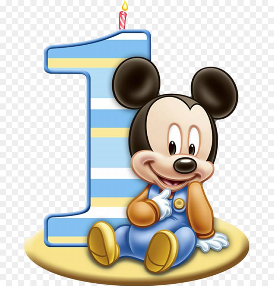 Mickey Mouse Minnie Mouse Birthday Cake Frosting Icing 1st