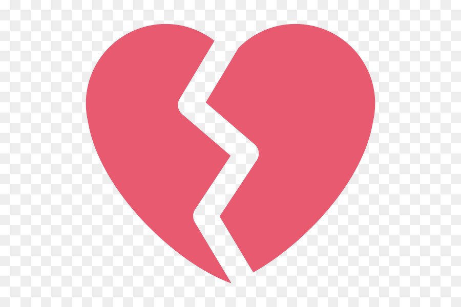 Emoji Broken Heart Clip Art Broken Heart Png Download 600600