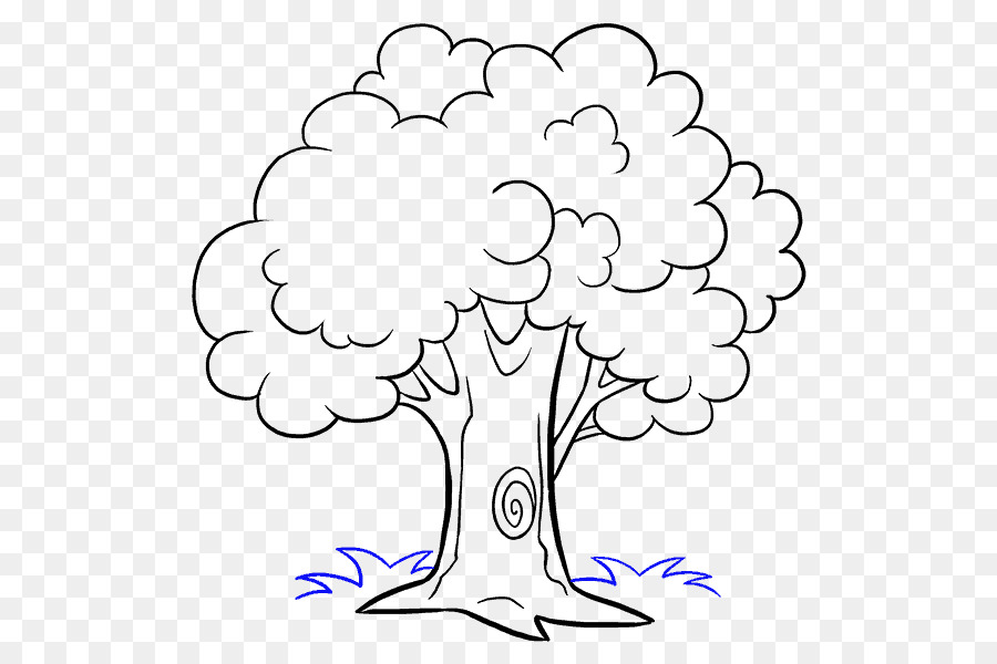 How To Draw Trees Drawing Cartoon Sketch