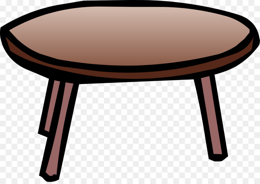 Club Penguin Coffee Tables Clip Art Table Png Rh Kisspng Com Dining Of Contents