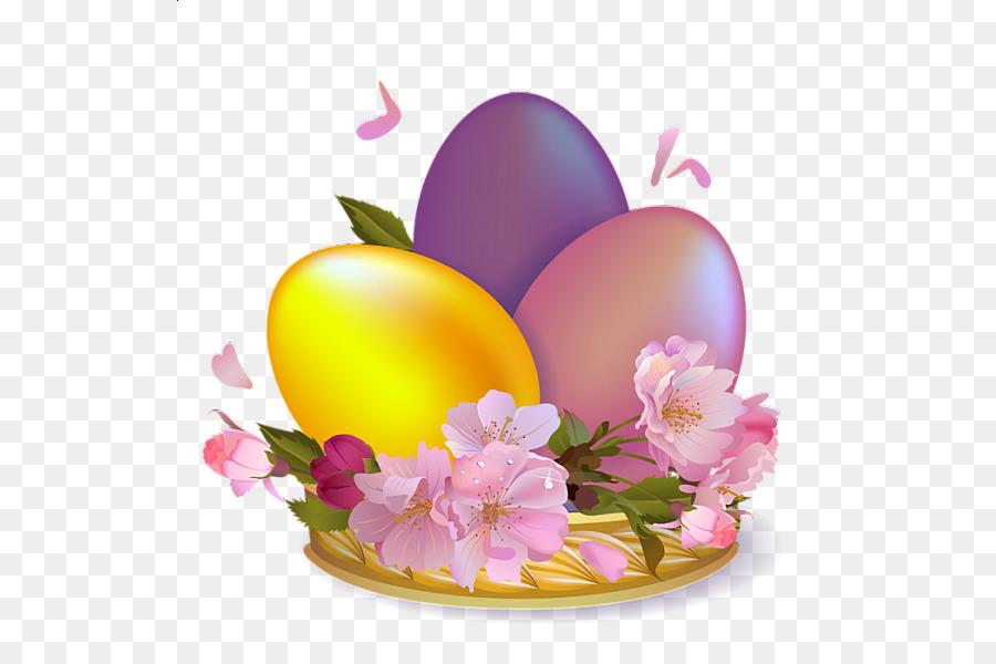 Easter Bunny Egg Desktop Wallpaper Clip Art