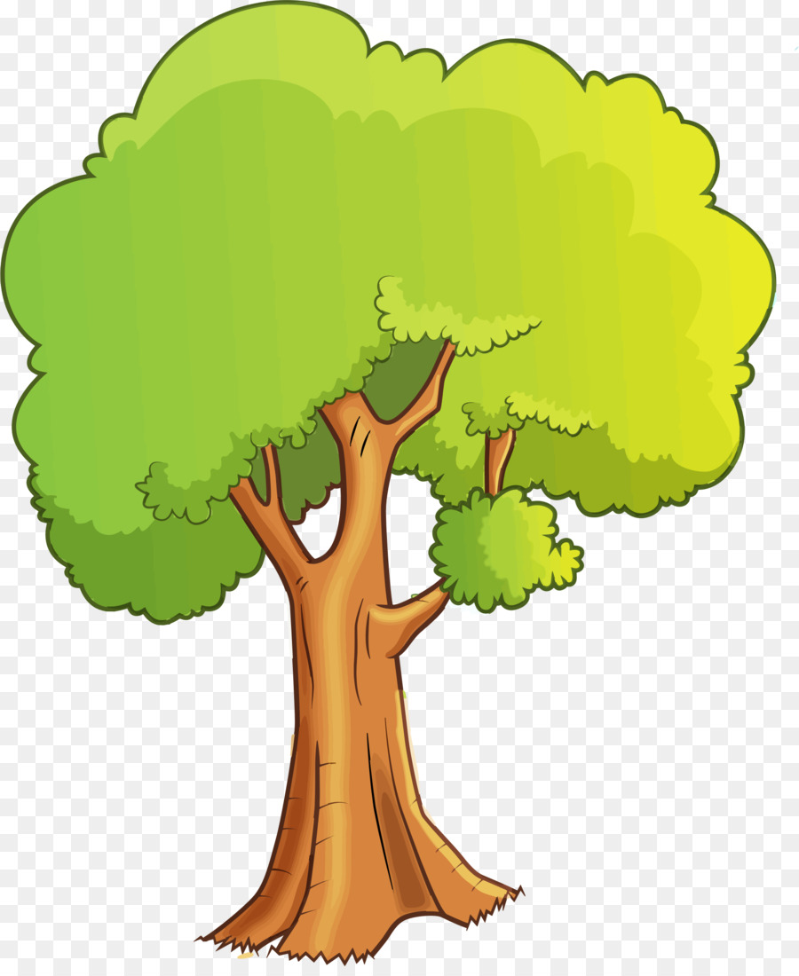 Tree Cartoon Drawing Clip Art