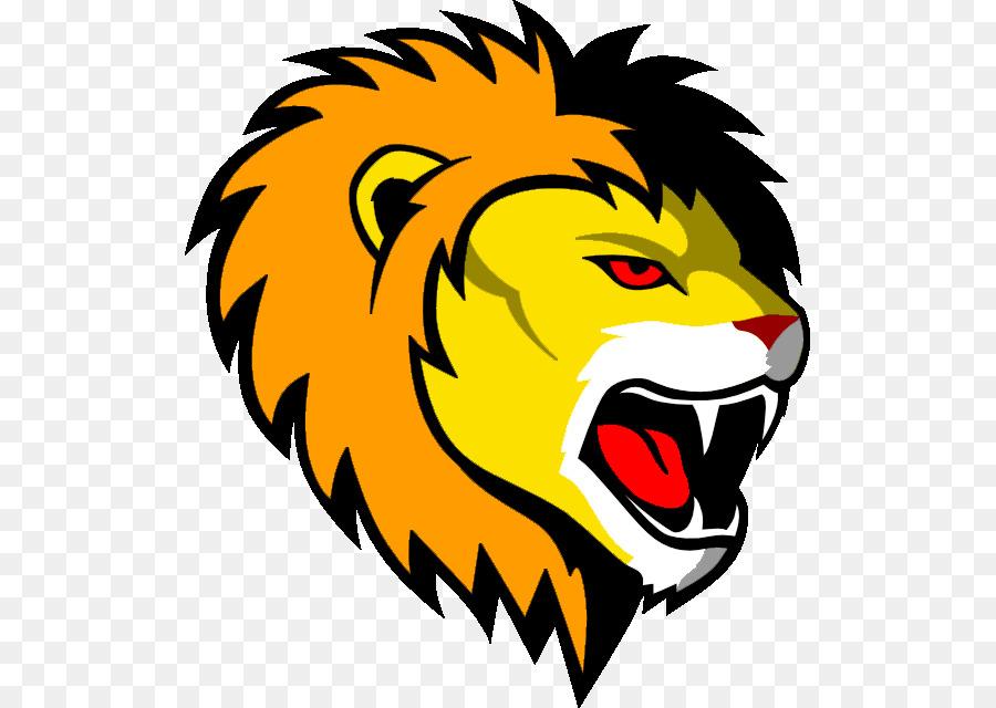 lionhead rabbit roar face clip art lion face png download 565 rh kisspng com