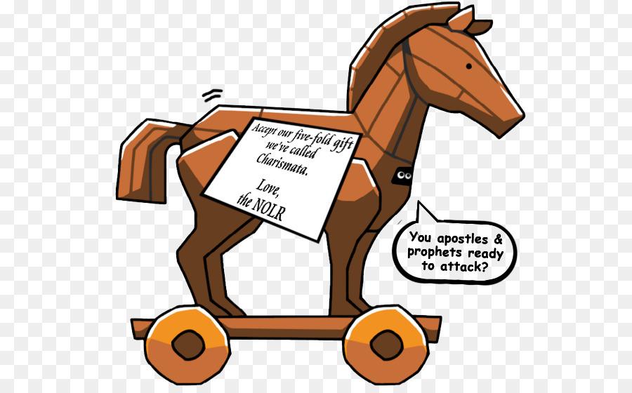 Trojan Horse Trojan War Computer virus Clip art - gifts png download ...