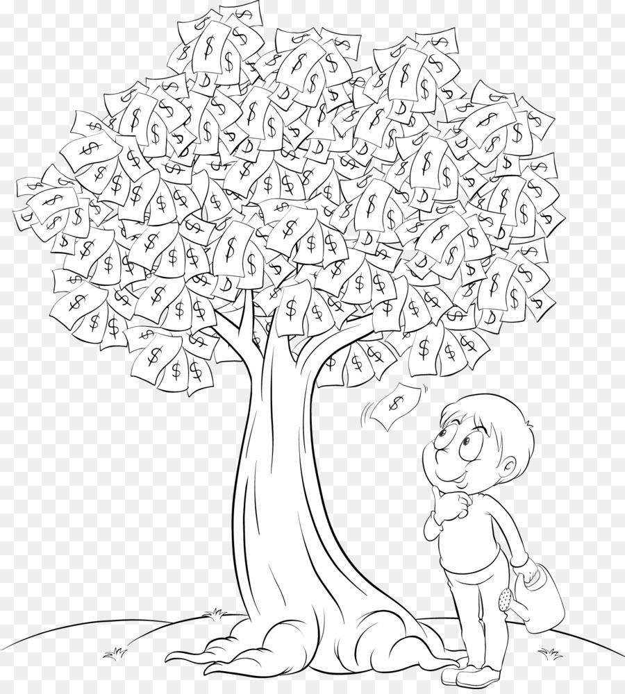 Árbol De Dibujo - árbol de dinero Formatos De Archivo De Imagen ...