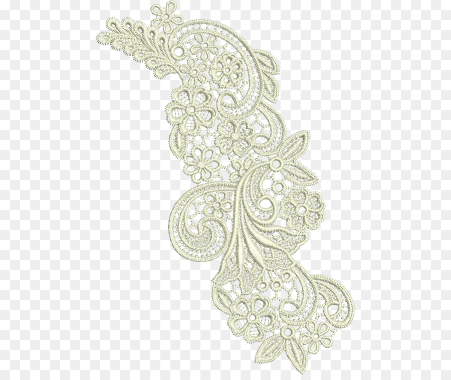 Lace Machine Embroidery Pattern Embroidery Png Download 517750