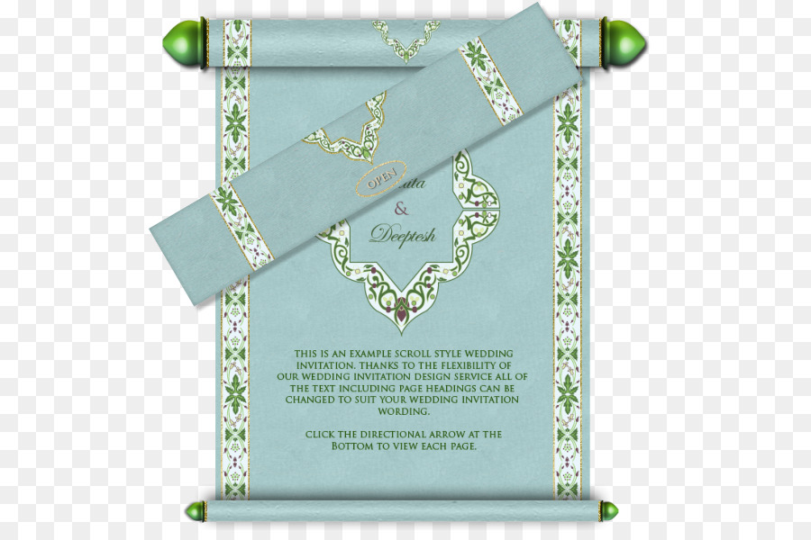Wedding invitation Paper Email Scroll - wedding card png download - 574*589 - Free Transparent Wedding Invitation png Download.