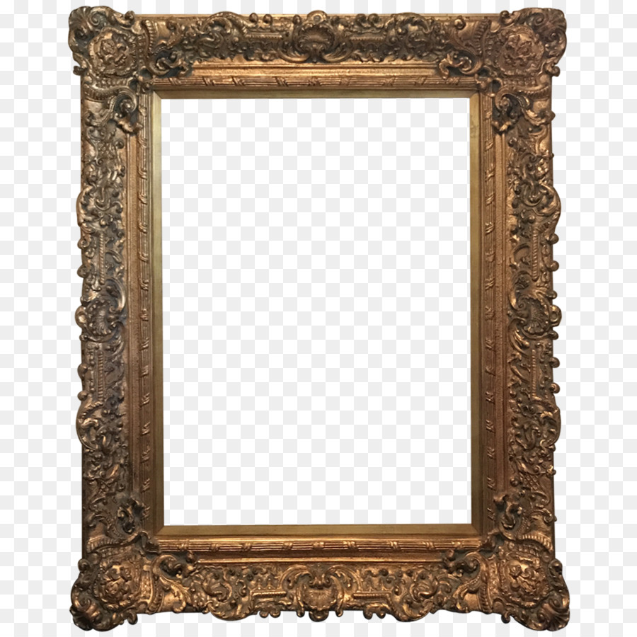 18th century Picture Frames Rococo Landscape painting - wood frame ...