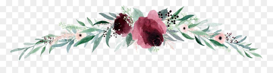 wedding invitation paper flower flower banner