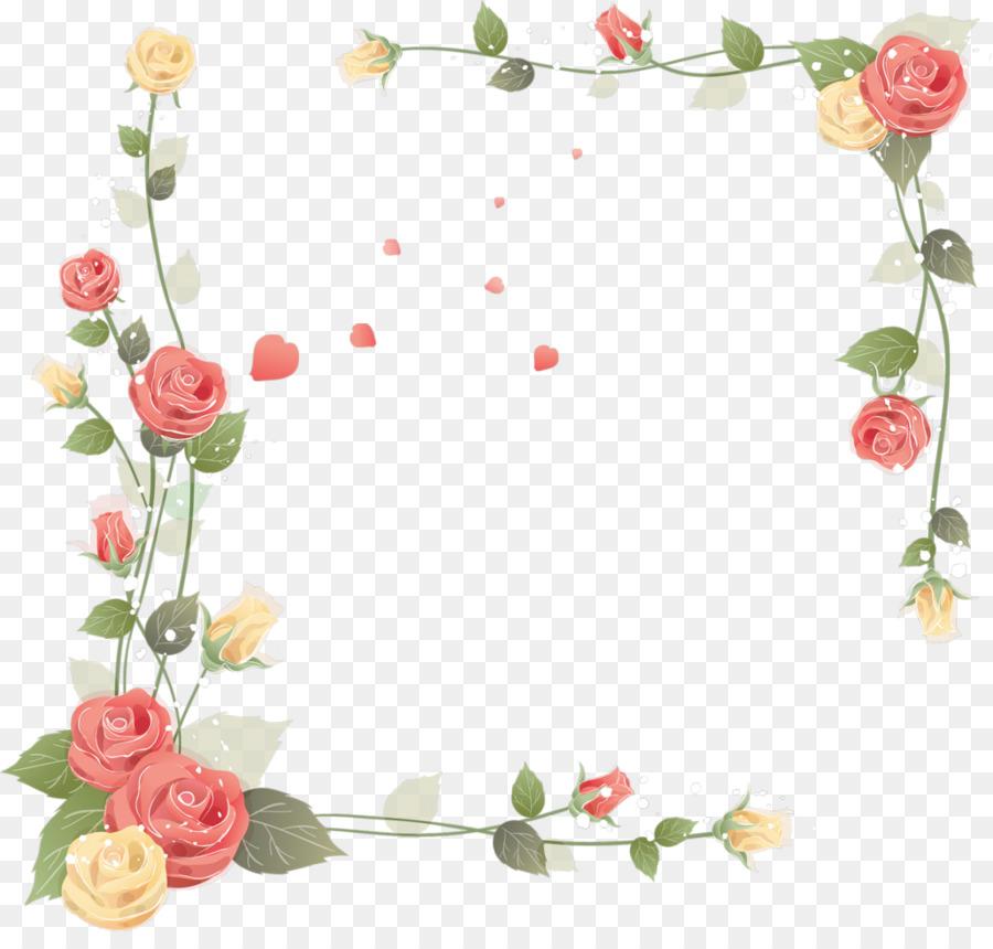 Microsoft PowerPoint Rose Flower Presentation Clip Art
