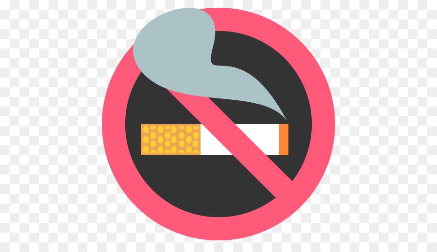 Smoking emoticon text