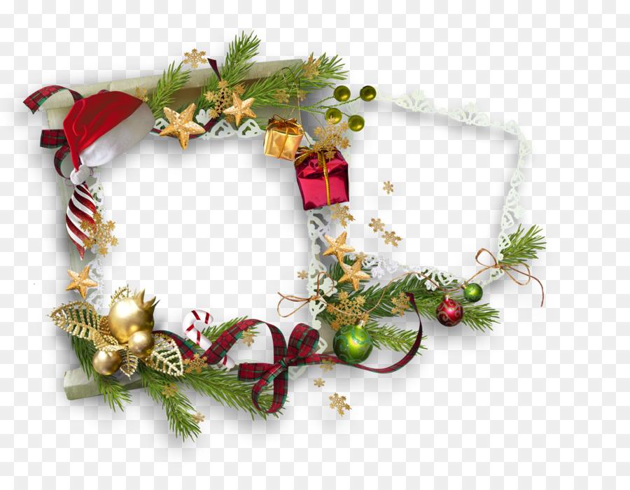 Ornamento de la navidad Regalo de Año Nuevo Marcos de fotos ...