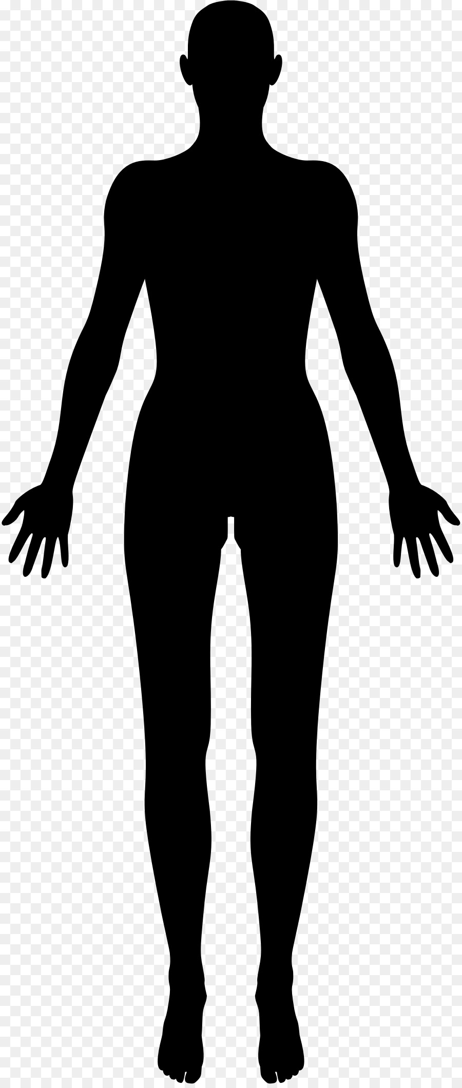 c117f2ca4 Female body shape Human body Silhouette Clip art - female png ...