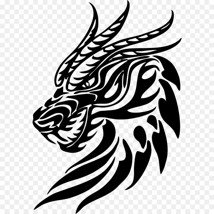 Tattoo Artist Dragon Polynesia Symbol Decals Png Download 900