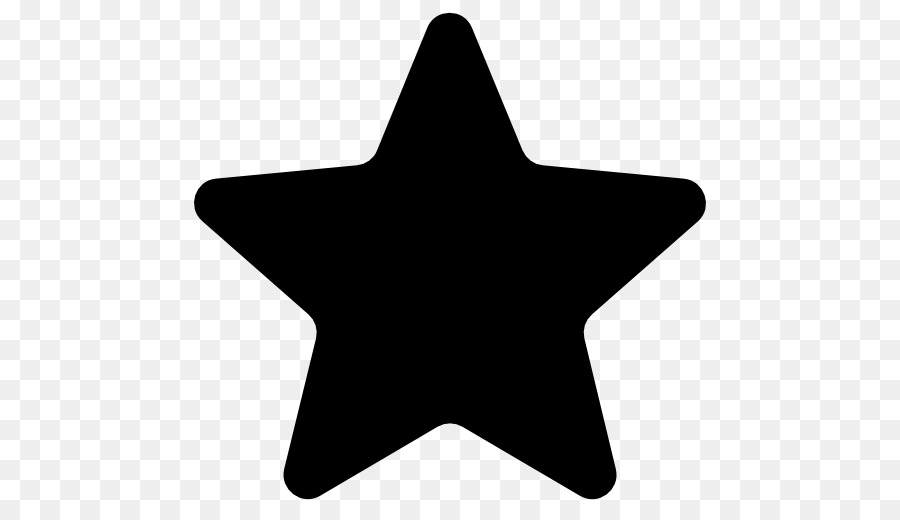 Computer Icons Star Symbol Black Star Png Download 512512