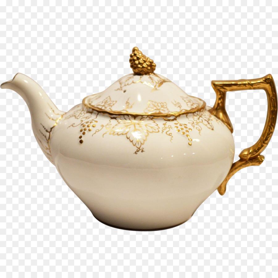 Teekanne Geschirr Porzellan Wasserkocher Teekanne Png