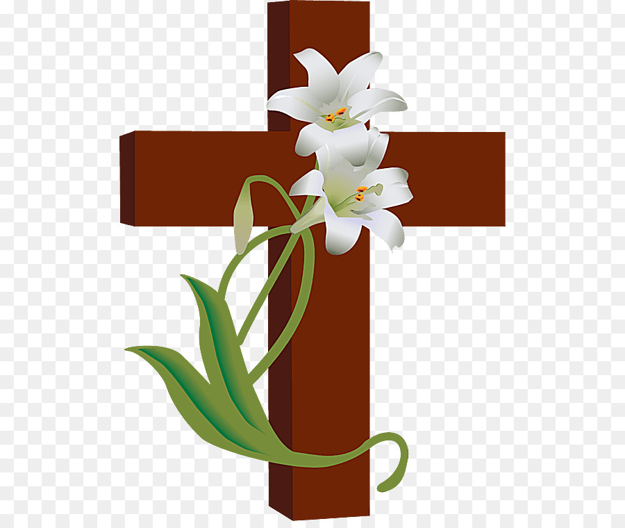 easter lily christian cross clip art holy week png