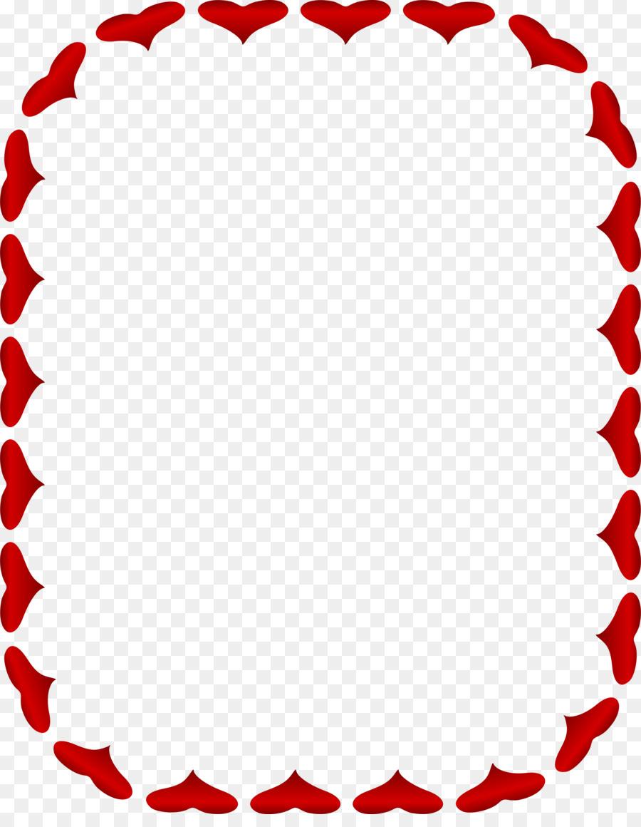 heart valentine s day picture frames clip art rectangle border png rh kisspng com