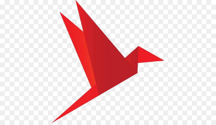 Bird Crane Origami Clip Art