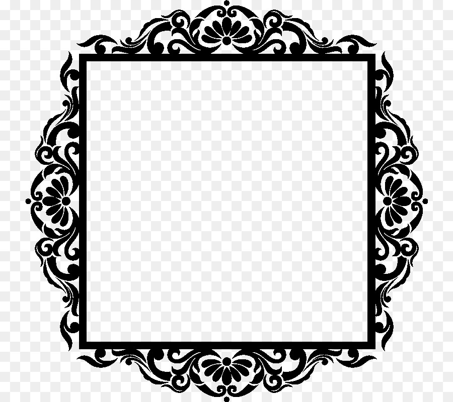 Picture Frames Baroque Photography Sticker Wall decal - baroque png ...
