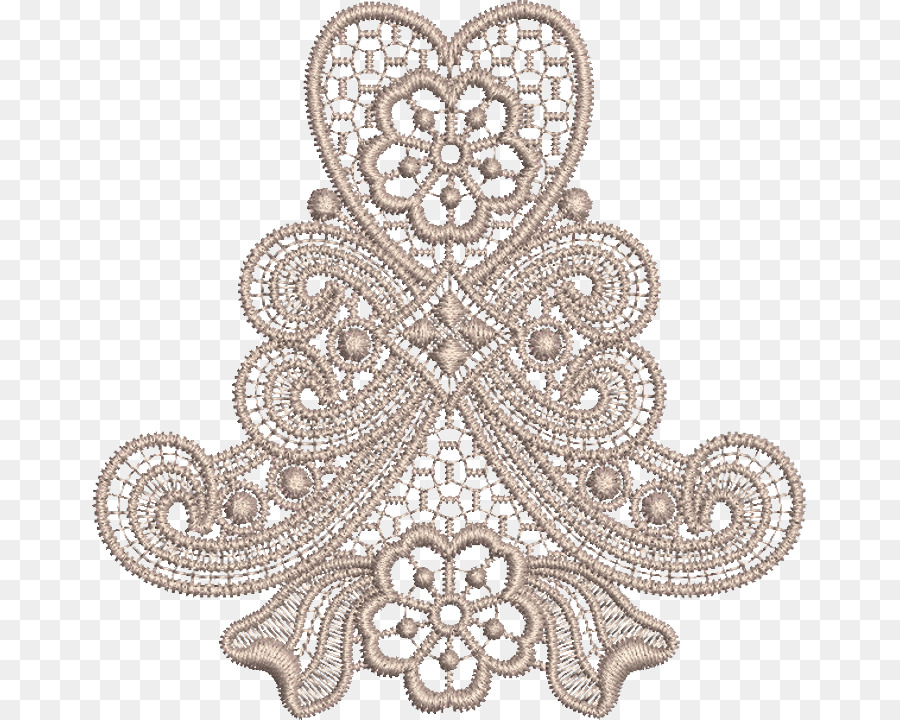 Machine Embroidery Lace Pattern Embroidery Png Download 715720