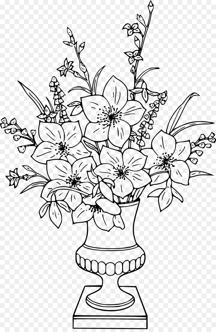Flowers in a vase a vase of flowers drawing gladiolus png download flowers in a vase a vase of flowers drawing gladiolus izmirmasajfo