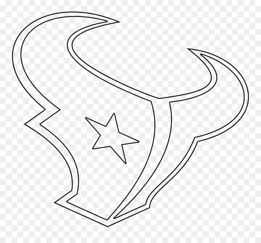 Houston Texans Drawing Logo Stencil Houston Texans 2400