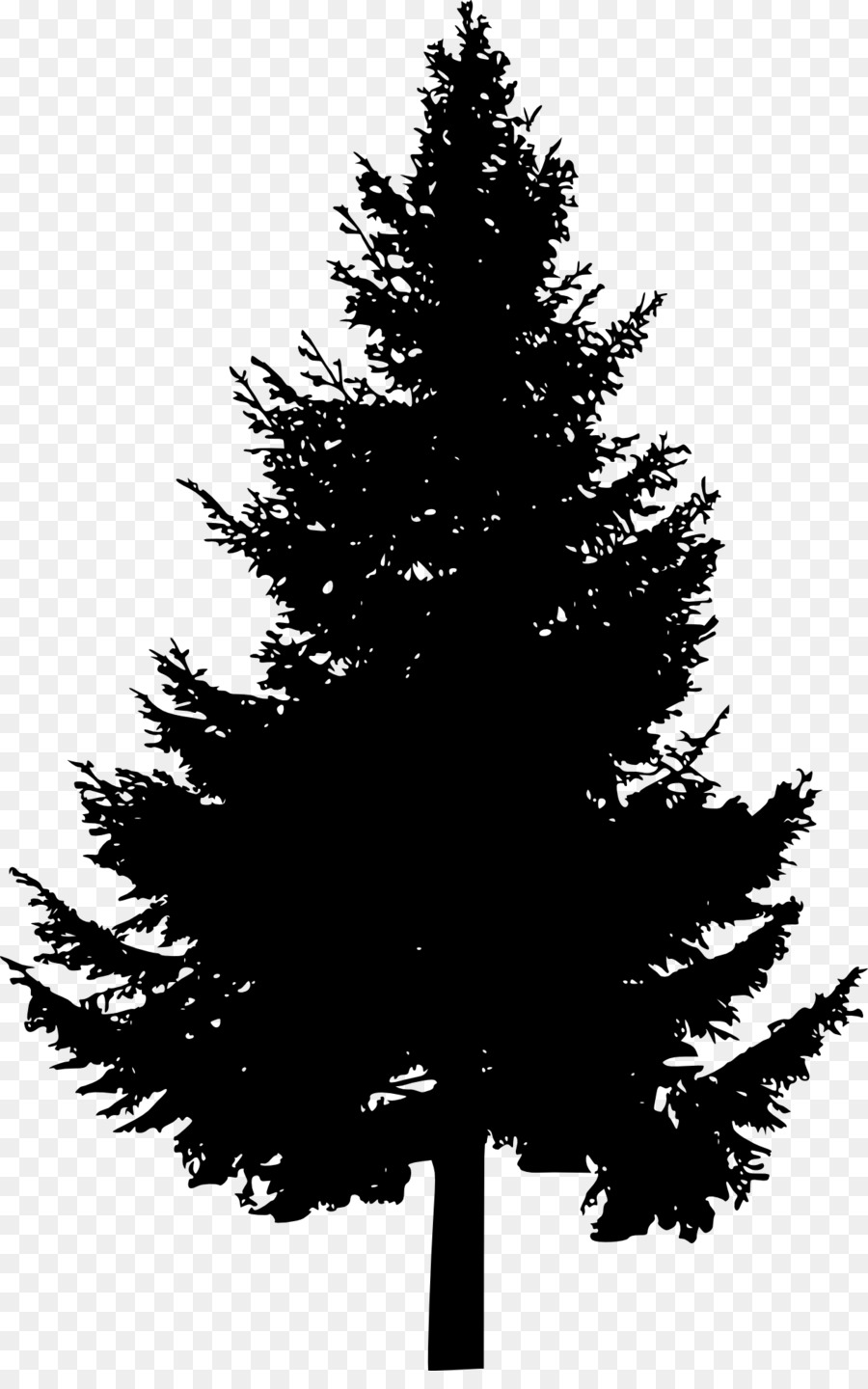 Pine Tree Silhouette Clip Art Pine Tree Png Download 1267 2000