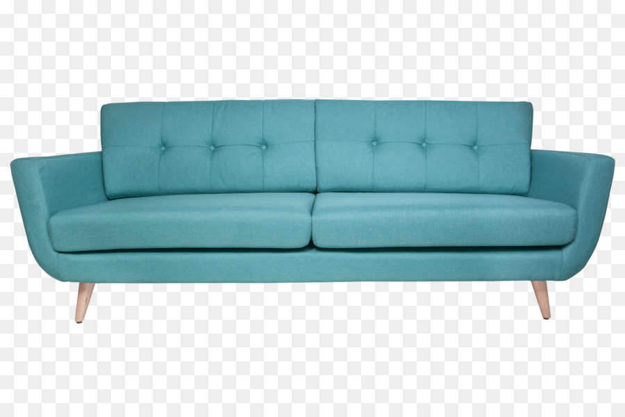 Table Couch Turquoise Chair Dining room - wood frame png download ...