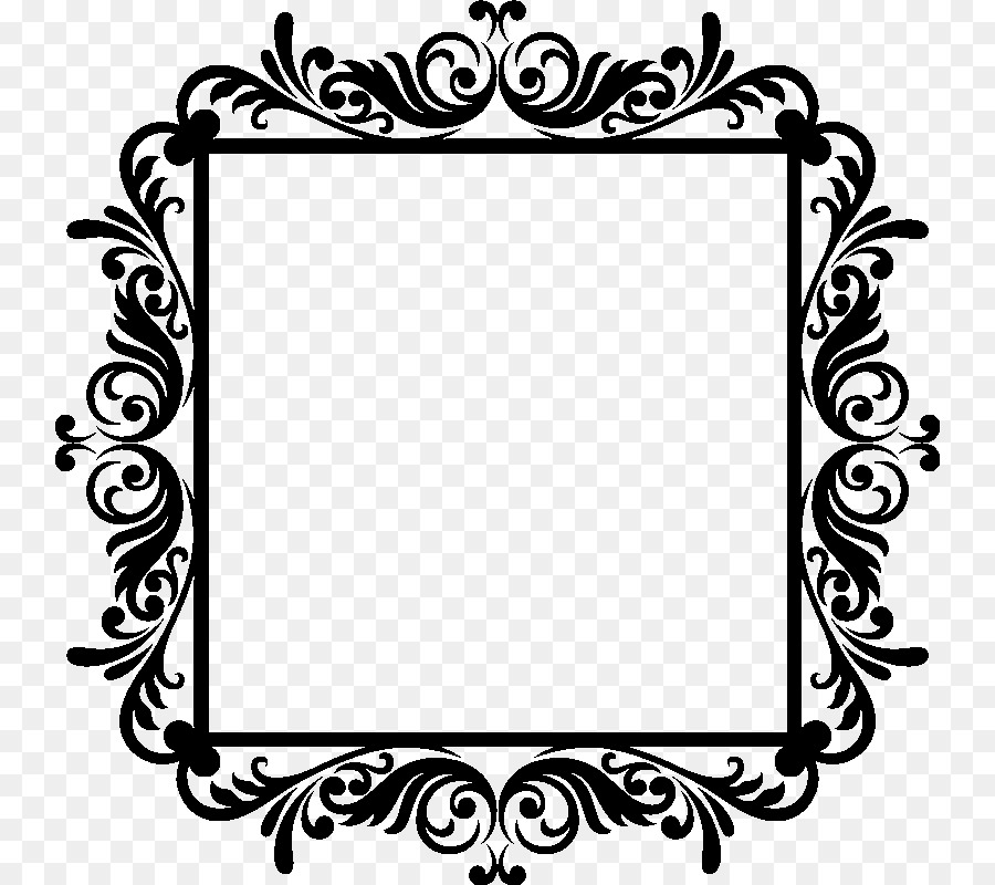 Picture Frames Baroque Paper Sticker Photography - baroque png ...