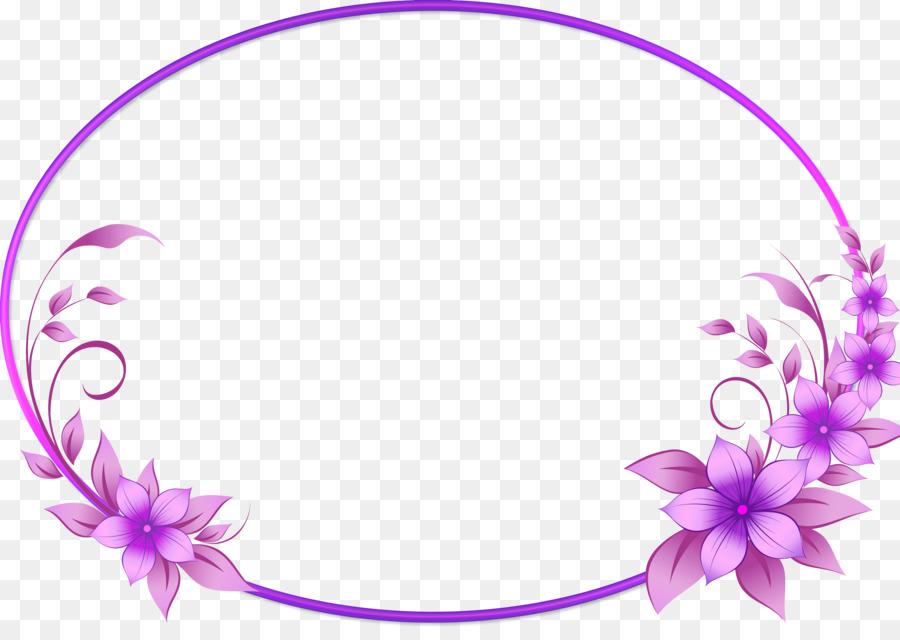 Picture Frames - floral frame png download - 3309*2306 - Free ...