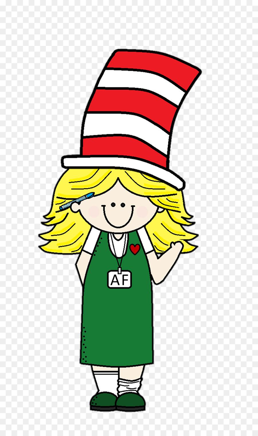 The Cat In Hat Thing One Green Eggs And Ham Clip Art