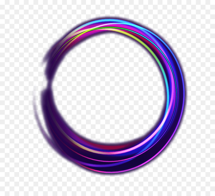 Neon Circle png download - 800*802 - Free Transparent Circle