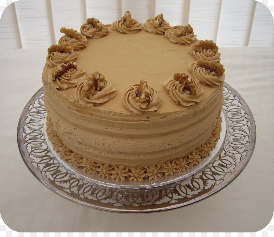Walnut And Coffee Cake Chocolate Cake Birthday Cake Frosting Icing