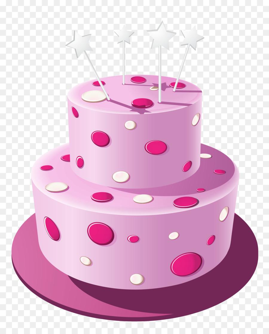 Pink Birthday Cake png download - 2798*3439 - Free