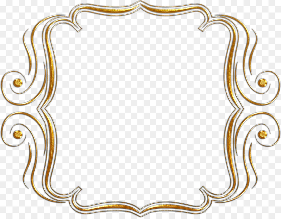 Picture Frames Photography Clip Art Gold Frame Png Download 2626