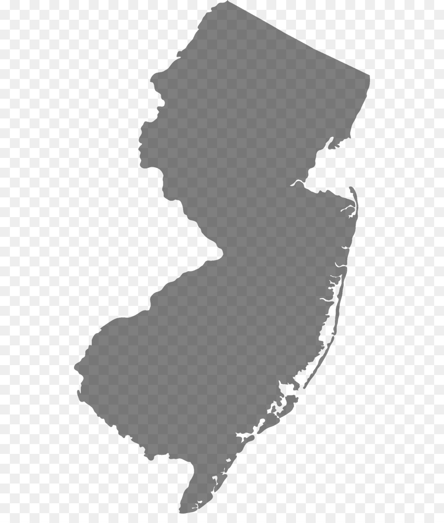 New Jersey New York Map Royalty Free Jersey Png Download 600