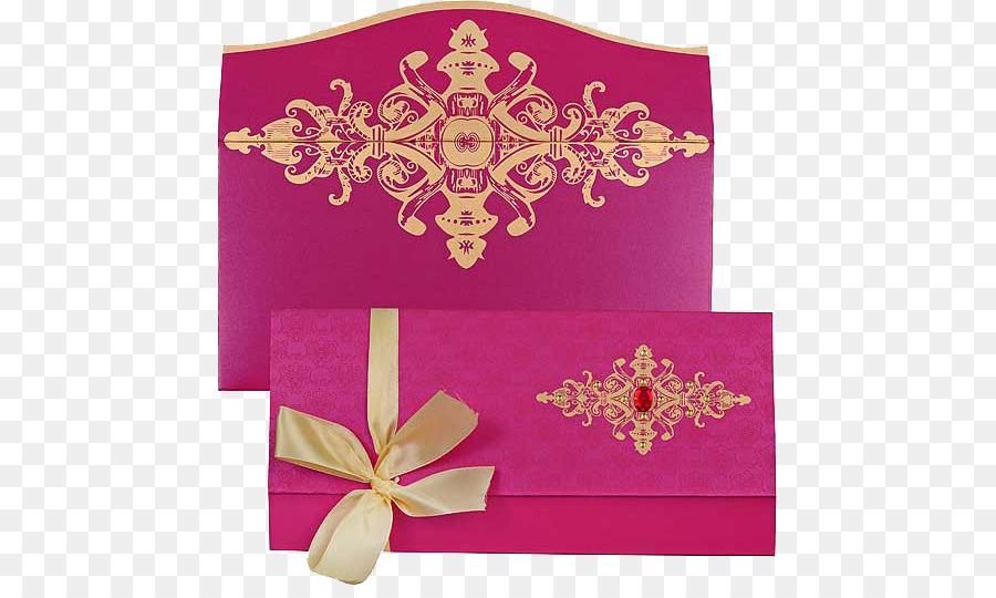 Las bodas en la India de la Boda invitación boda Hindú - tarjeta de ...