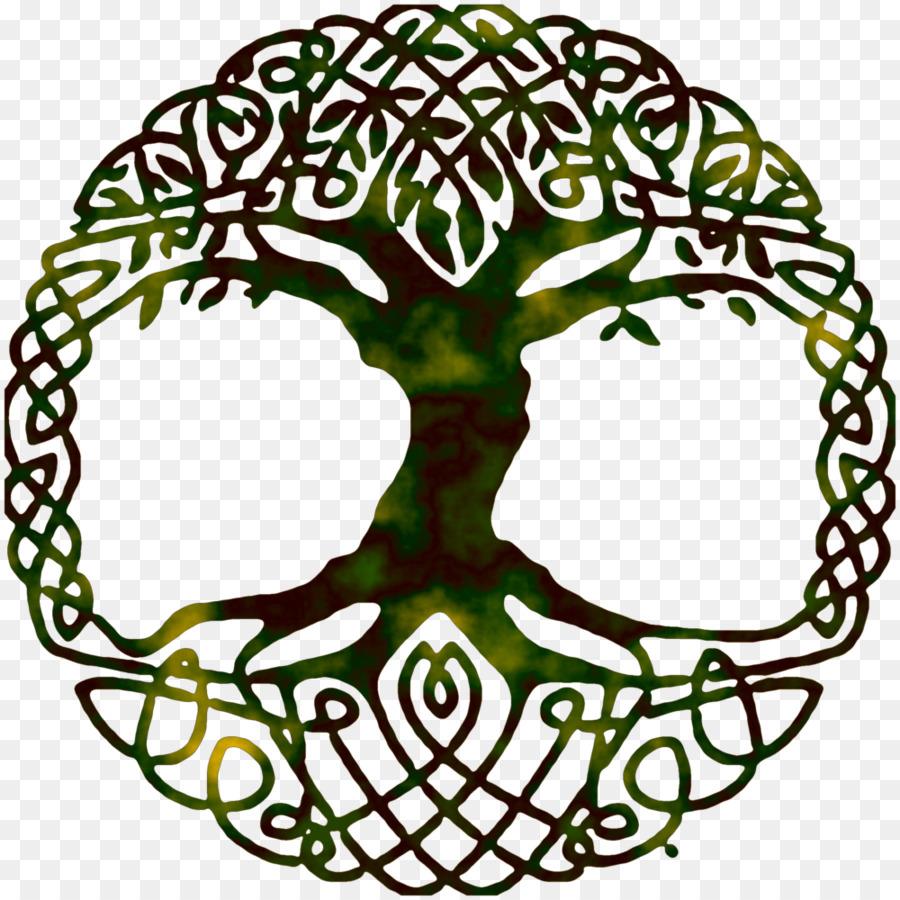 Tree Of Life Yggdrasil World Tree Symbol Gospel Png Download