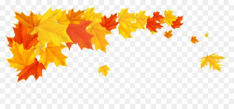 autumn desktop wallpaper clip art leaves border png download