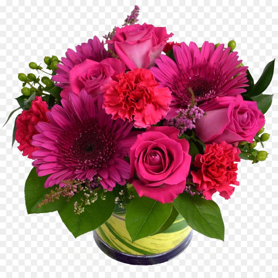 Flower Bouquet Floral Design Cut Flowers Rose Pink Flower Png