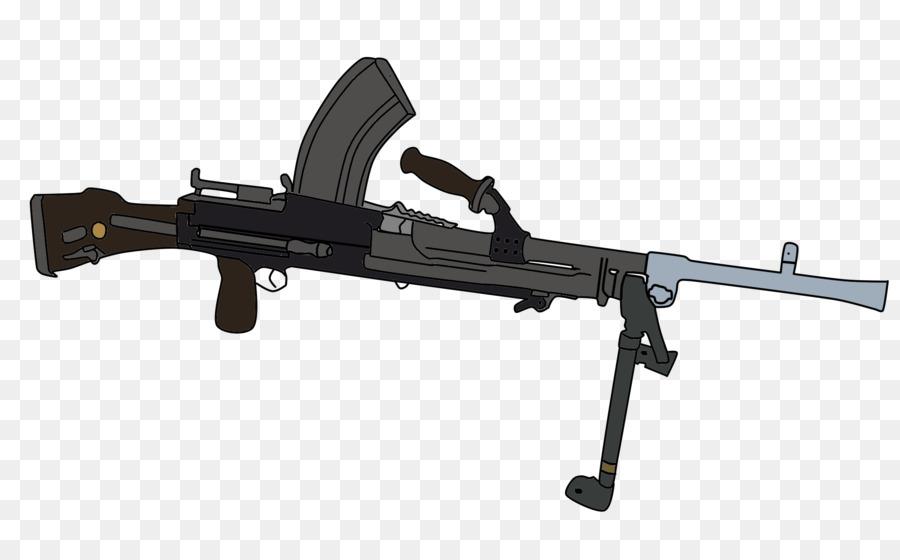 Firearm Bren Light Machine Gun Weapon