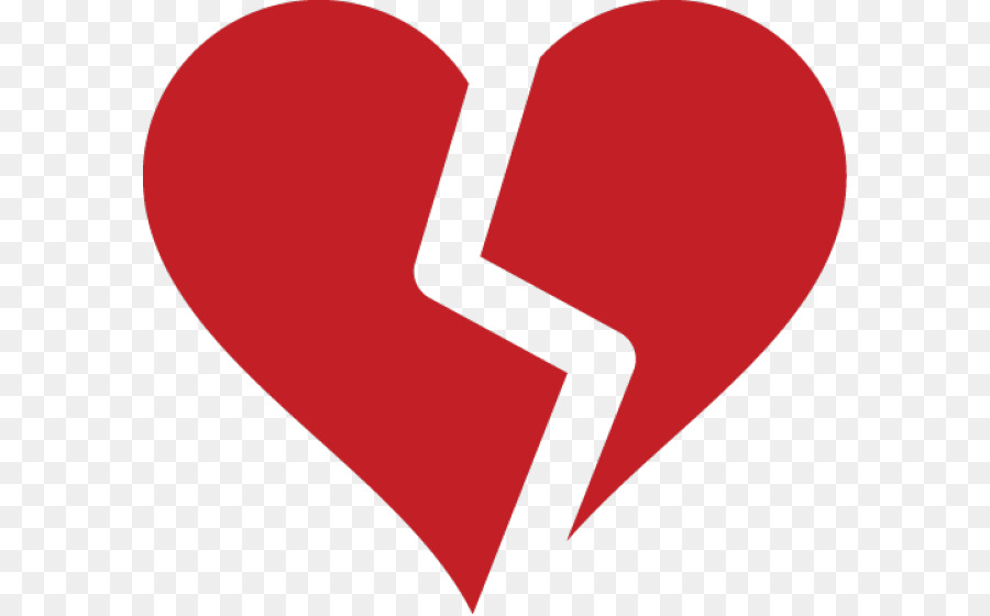 Broken Heart Symbol Clip Art Broken Heart Png Download 640558