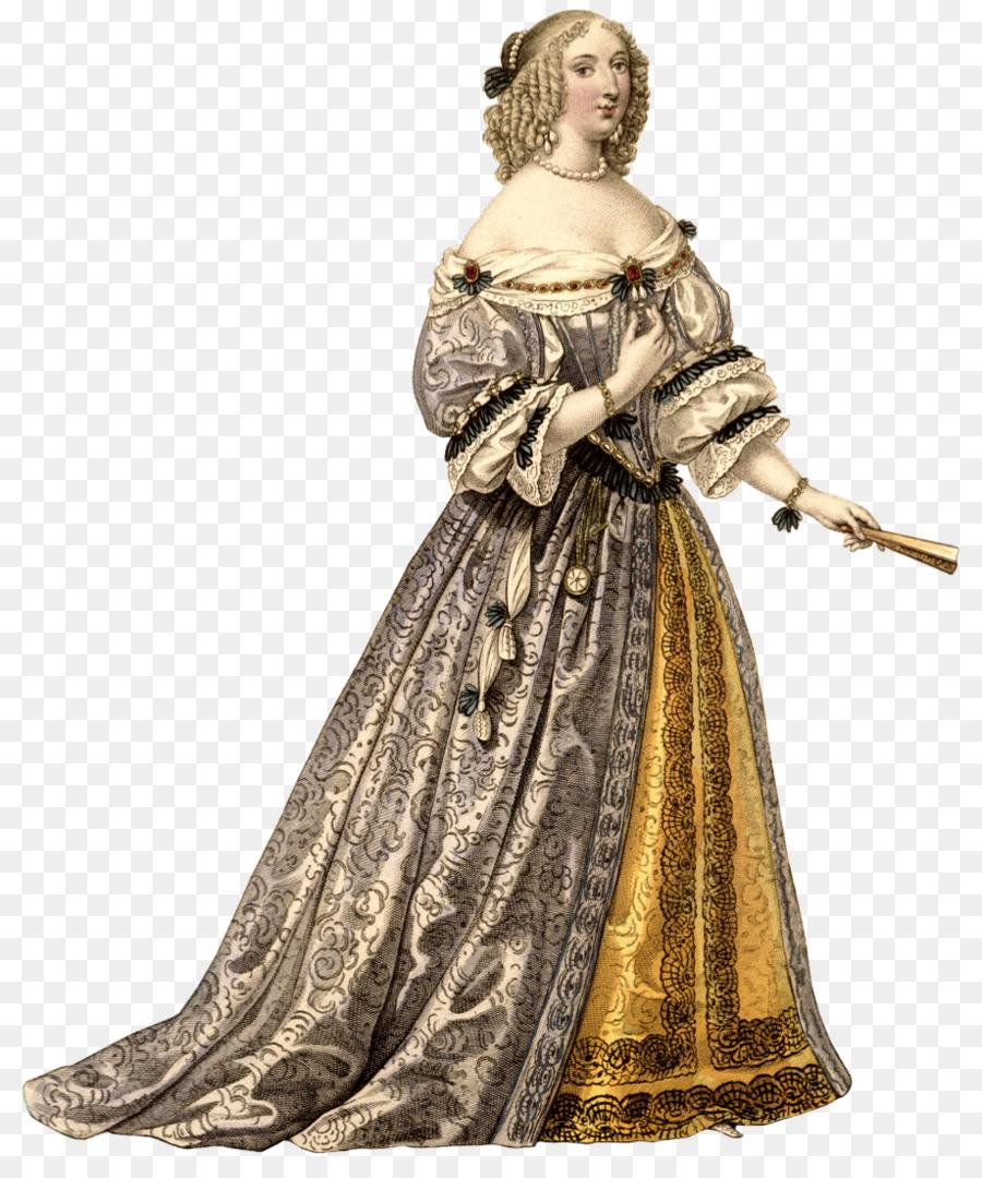 Fashion 1660s Dress Clothing Pin - baroque png download - 920*1088 ...