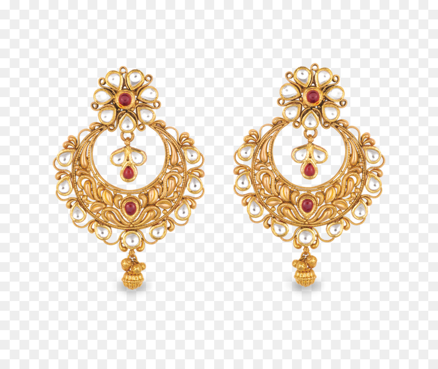 Earring Jewellery Gold Costume jewelry Necklace earring png
