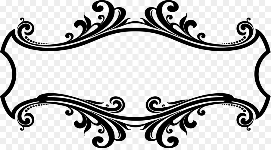 Ornament Decorative arts Picture Frames Clip art - border design png ...