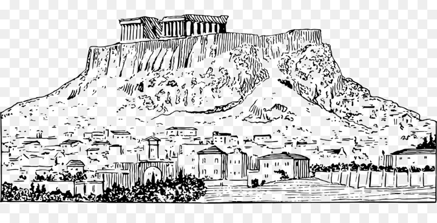Parthenon Acropolis Of Athens Drawings Sketchbook