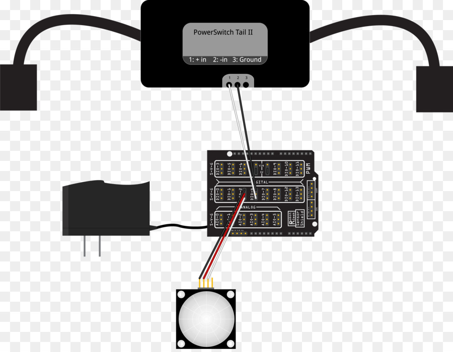 Motion Sensors Electronic Component png download - 3100*2391