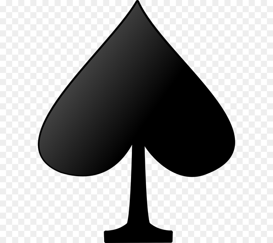 Playing Card Suit Ace Of Spades Symbol Symbols Png Download 800