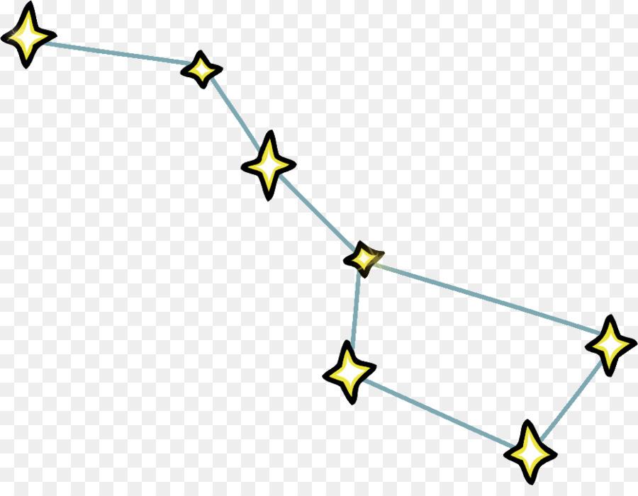 dipper pines big dipper ursa major constellation clip art